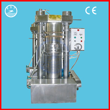 High output oil rate hydraulic oil press