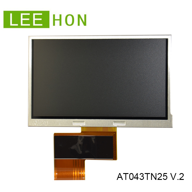 Innolux 4.3 inch TFT LCD module display FPC AT043TN25 V.2 for outdoor 500nits