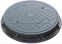 waterproof en124 smc manhole cover plastic round manhole cover with high quality