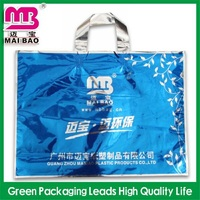 high quality material soft loop handle customized plastic gunny bags