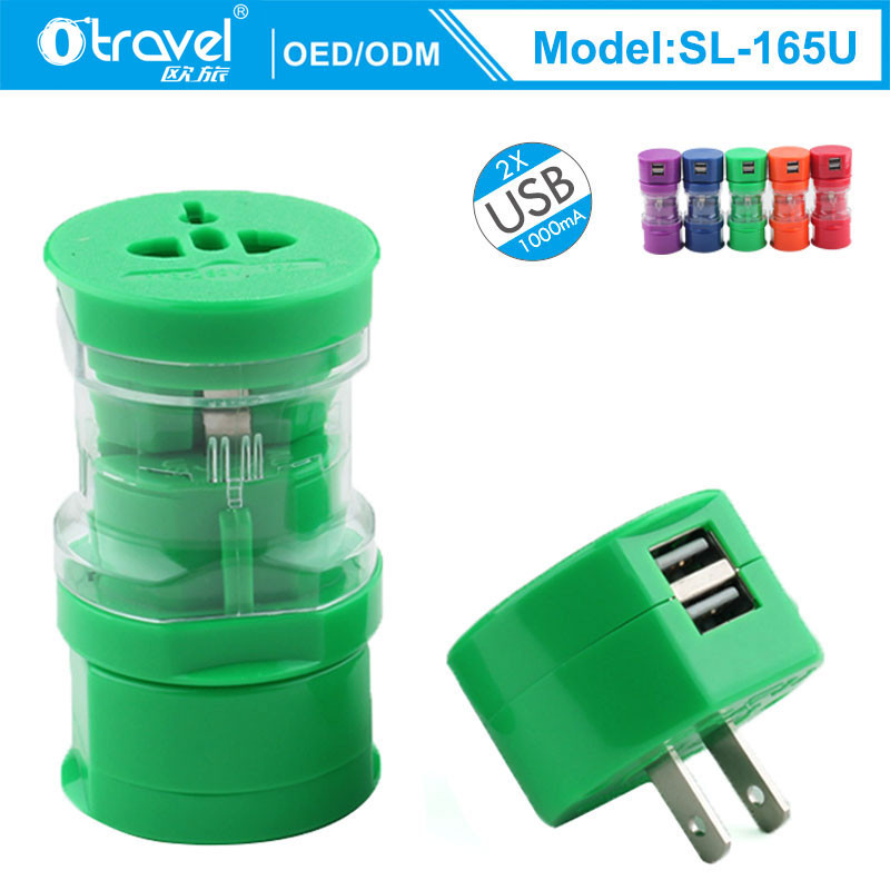 combination SL-165U fast charging Serbia Universal Travel <strong>Adapter</strong>
