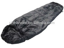Black outdoor Commando Sleeping Bag military sleeping bags for cold weather