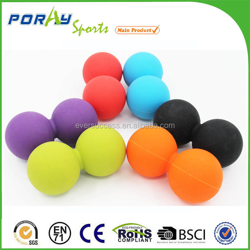 Wholesale Gym ball fitness exercise training Mini Peanut Message Ball
