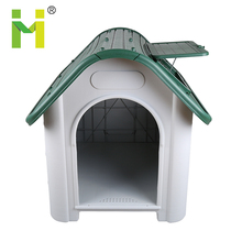Plastic summer cool with Sun Roof Skylight Window heated dog kennel