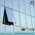 Hidden Framing Glass Curtain Wall,Exterior Glass Wall Panels