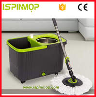 ISPINMOP telescopic 360 degree rotating mop stick online shopping india