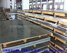 Hot sale prime quality satin finish 201 stainless steel sheet with reasonable price