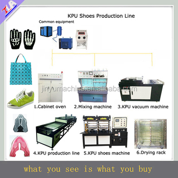 KPU shoes production line for making KPU products
