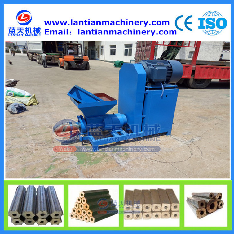 Biomass powder sawdust sugar bagasse briquette biomass extruding press machine