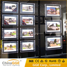 LED Illuminated Window Signs for Real Estate Agents