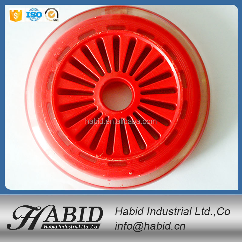 professional wholesale pu wheel 90x24mm roller skateboard with high quality