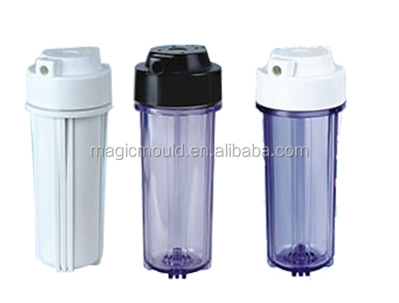 2014 plastic water filter housing injection mold in CHINA TAIZHOU HUANGYAN