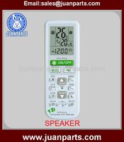 SPEAKER universal air conditioner remote control codes