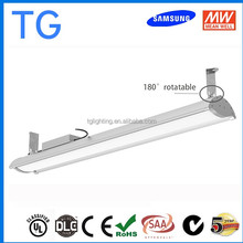 Dimmable 1 to 10V DALI Sensor 200W LED High Bay Light 21000lm for Church Exhibition Workshop with 5 Years Warranty