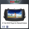 7Inch 2din HD touch screen renault koleos car dvd player with gps navigation