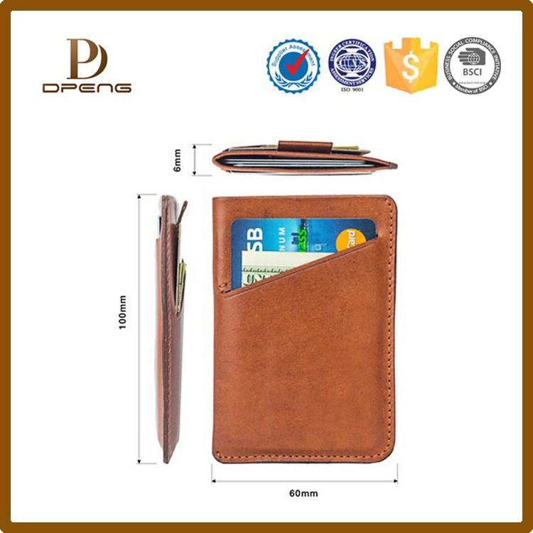 Card Protector in black, Very Slim Credit Card Holder / wallet with RFID protection