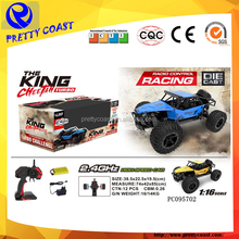 Scale 1:16 die cast high speed car racing electronic game remote control car