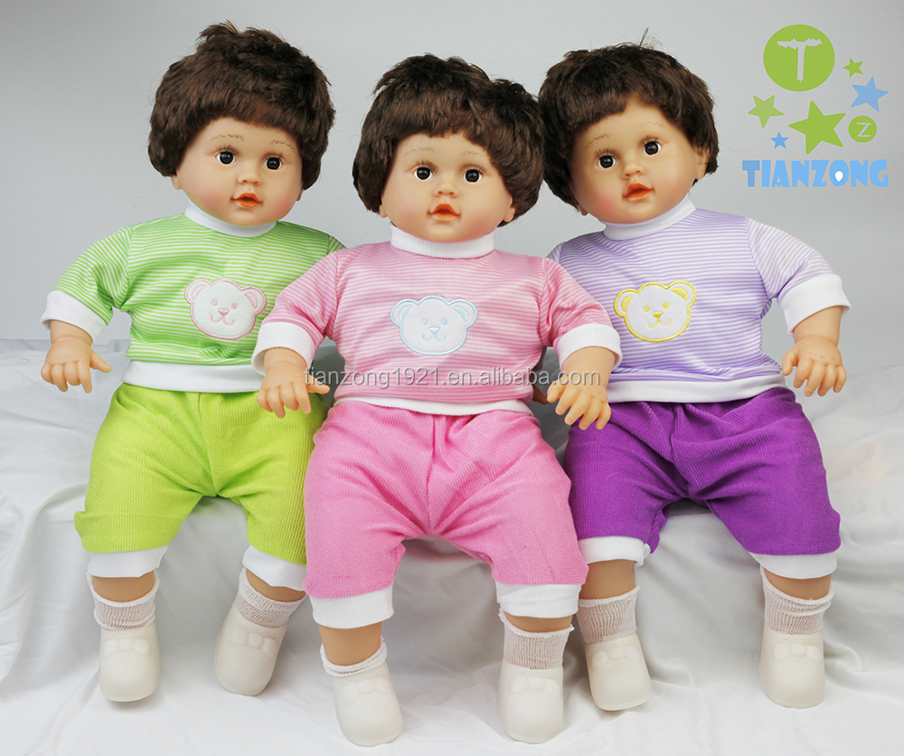 hot sale lovely boys Vinyl doll plush rag toys