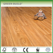 Decoration wax waterproof parquet laminate flooring 12mm