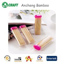 Home &Garden Disposable Natural Color Bamboo Toothpicks Cinnamon Toothpicks
