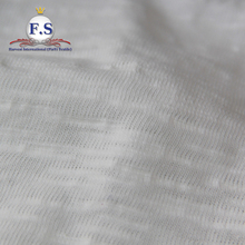100% cotton slub knit jersey fabric