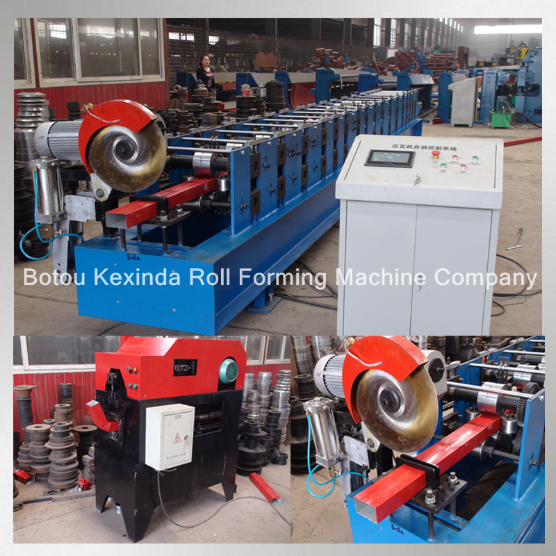 downpipe machinery production line water downpipe production line cold form