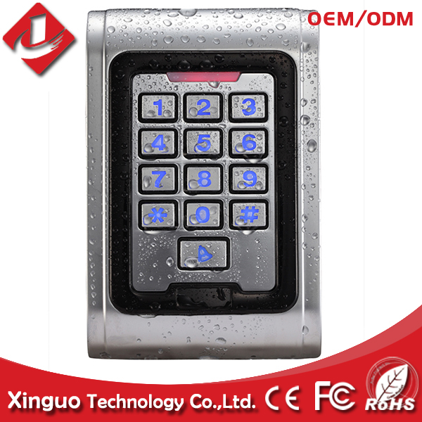 Hot selling! metal keypad Waterproof wireless access control system for Gate Entrance