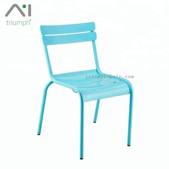 Powder coated Metal chair /Replica Fermob Luxembourg Chair/Metal Fermob restaurant chair