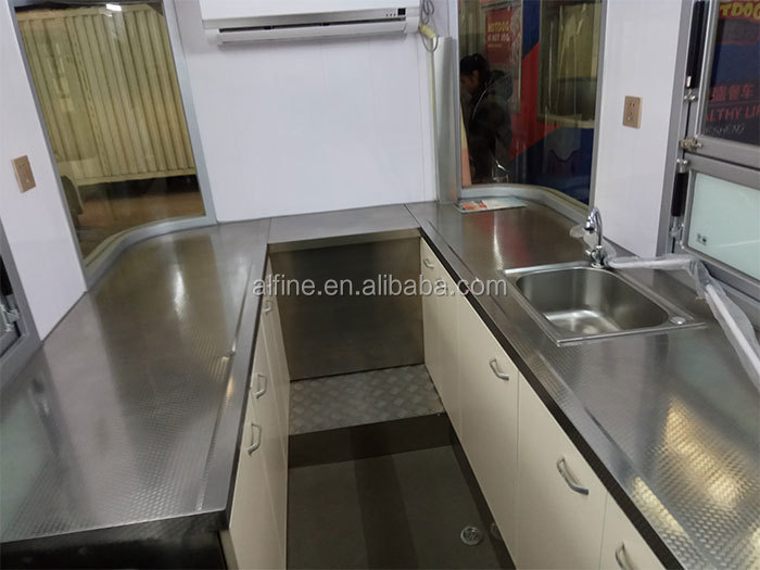 Hot sale new customized cooking food kiosk