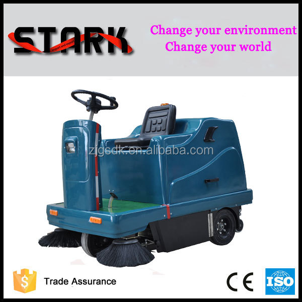 1400 electric fuel and cleaning use industrial road sweeping sweeper machine