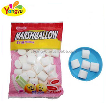 fruit filling mini Round Shape Marshmallow with sweet jam