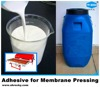 fast drying adhesive for vacuum membrane pressing