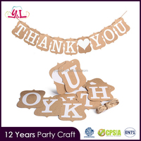 Thank You Cards Paper Garland Party