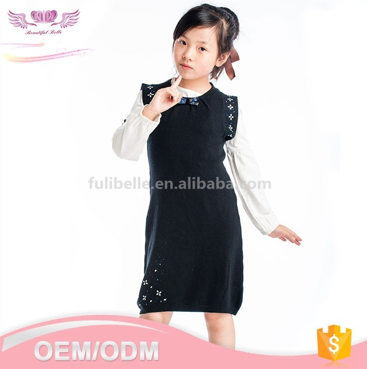 Latest fashion kid clothes dresses Chinese smocked baby girl party dress children frocks designs