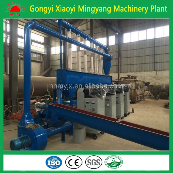 Professional Factory sawdust charcoal briquette making machine/Wood shaving briquetting press machine 008615039052280