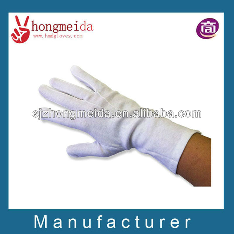 costume black gloves marching band uniform white cotton gloves