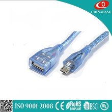 wholesale price portable design Universal usb otg cable for mobile phone from china
