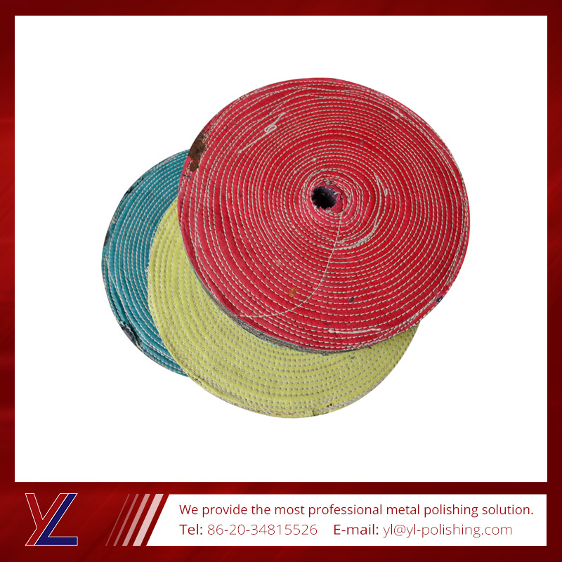 Good quality and best servce china cotton cloth wheel
