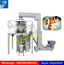 YB-420Z Automatic snack food packing machine weighing and filling machine