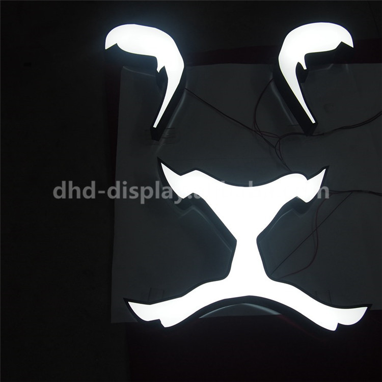 China manufacturer epoxy resin led channel letter store sign with best quality and low price
