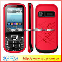 F3 cheap house phone with sim card 2.4 inch low end mobile phone support FM/bluetooth 7color for choose