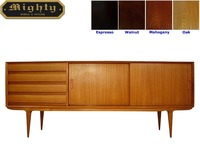 69 inch 4 Drawer Sideboard Modern Cherry Oak Dresser