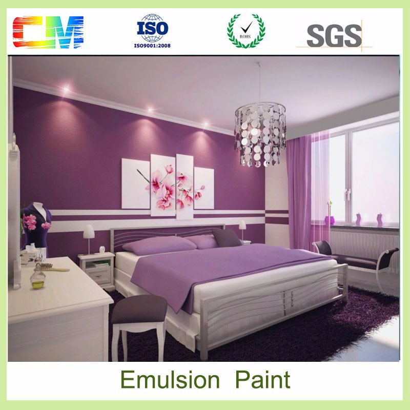 Interior walls odor free washable flexible waterbased latex interior acrylic emulsion wall paint