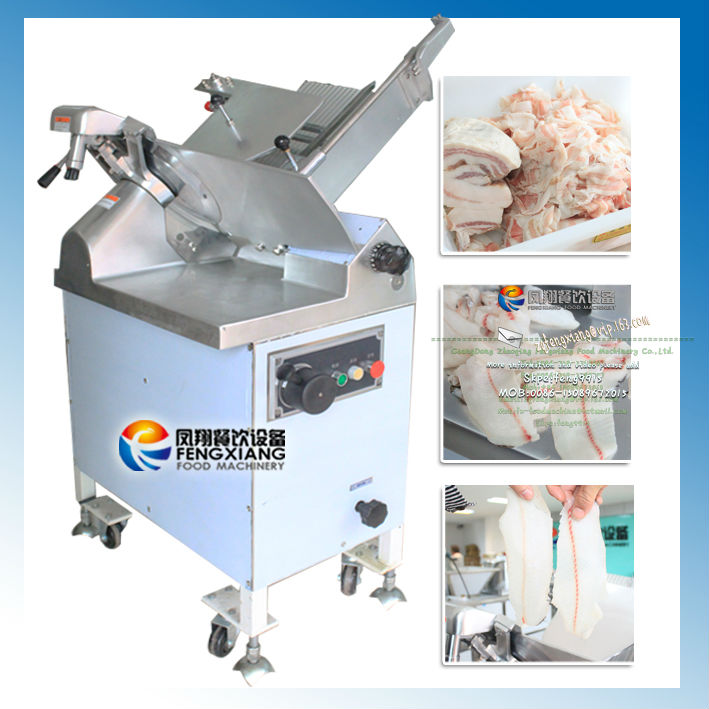 FQP-380 Electric Frozen Meat Cutter high productivity / frozen fish cutting machine /meat cube cutting machine from factory