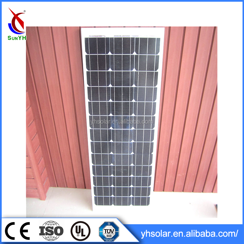 Hot Sell Delicate solar panel 6.5kg cheap solar panel for sale