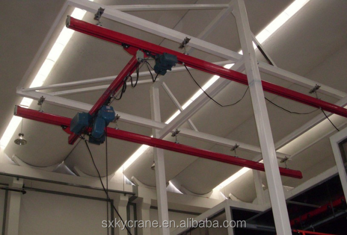 Suspended type lifting oveerhead crane 10ton of high quality