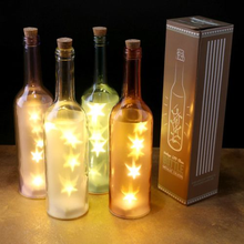 Magical Fairy Star LED Light-Up Bottle String Light