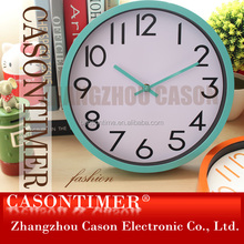 Wall Clock Waste Material Art Craft