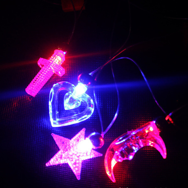 2015 Hot Sale Colorful Led/Light up/Flashing Necklace for Party