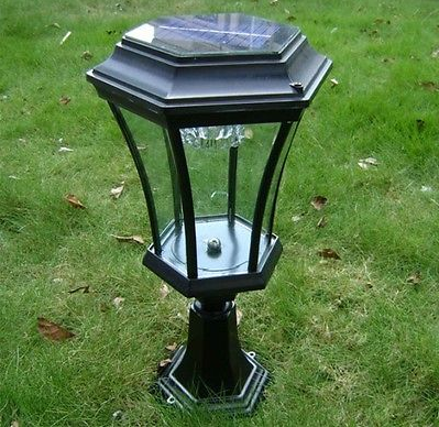 2015 New Design NI-MH Solar Cell Type And Garden Solar Fence Post Light